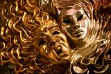 masks from venice - day and night