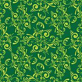 floral green tile
