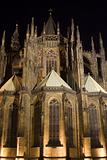 gothic cathedrale in prague - night