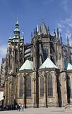 gothic cathedral in prague