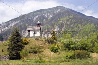 chapel in austira landscape