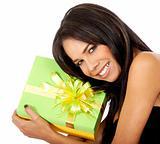 gift box girl