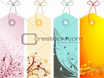 Floral labels