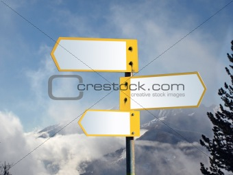 blank signal series