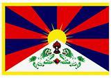 tibet series - flag