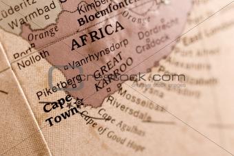 Cape town map detail