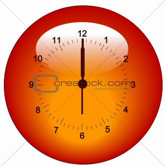 clock icon or button