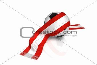 Football fan Austria and swiss