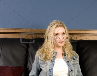 Sitting on Sofa