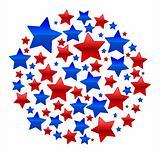 A CIrcle made of stars