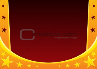 Circus abstract background