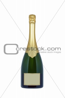 Champagne bottle