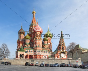 Intersession cathedral (St. Basil)