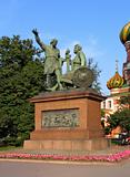 Monument of Minin and Pozharskij