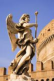 Castle Saint Angelo Statue