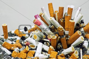 Cigarettes and ashes