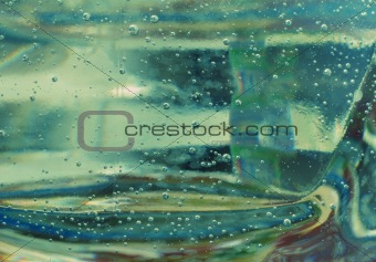 abstract air bubbles