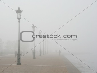 Foggy Seafront