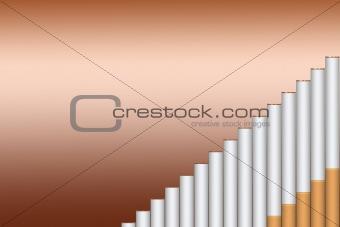 Cigarette steps