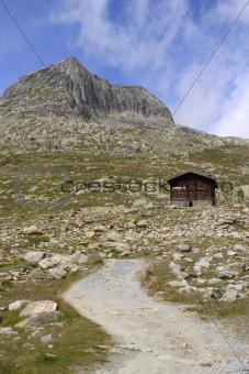 bower in alp - switzerland