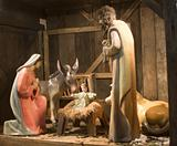 crib - symbol of christmas from vienna