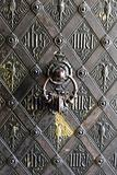 bronze gate - detail from vienna church