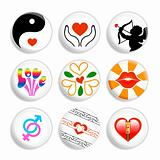 Love badges