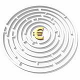 euro symbol maze