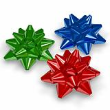 colorful star bows