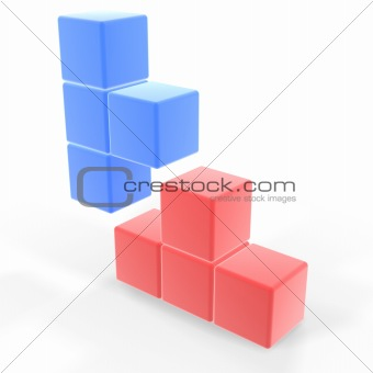 classic tetris game