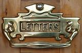 Ornate Letter Slot