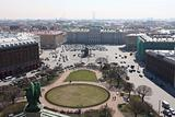 Russia, Saint-Petersburg, View of Isaac Square