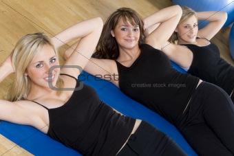 Exercising Trio