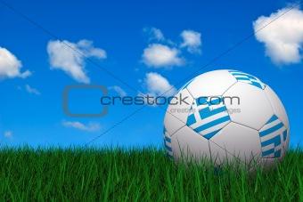 Greek soccer ball