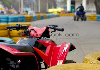 Attraction Of Quadricycles