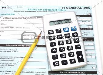 canadian taxes