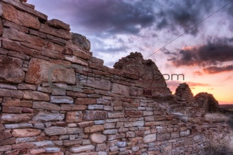 Chaco Canyon Sunset