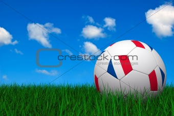 French soccer ball