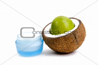 Moisturizer and coconut
