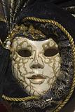 mask from venice - black and gold