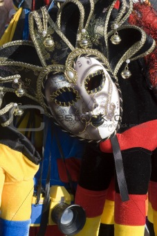 mask from venice - datail from market