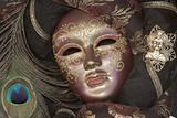 mask from venice - luxury