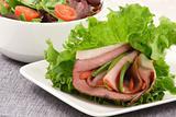 roast beef lettuce sandwich