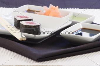 aromatic sushi