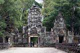 Big stone entrance