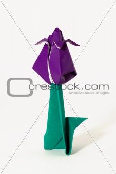Single origami flower
