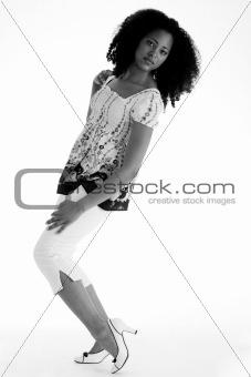 African full body