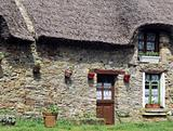 thatched cottage france