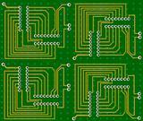 Electronic circuit - vector
