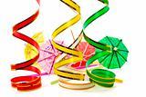 Parasol and ribbon